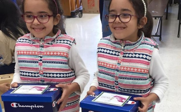 Carrillo Students Receive New Shoes Thanks to Generous Community Partner - article thumnail image
