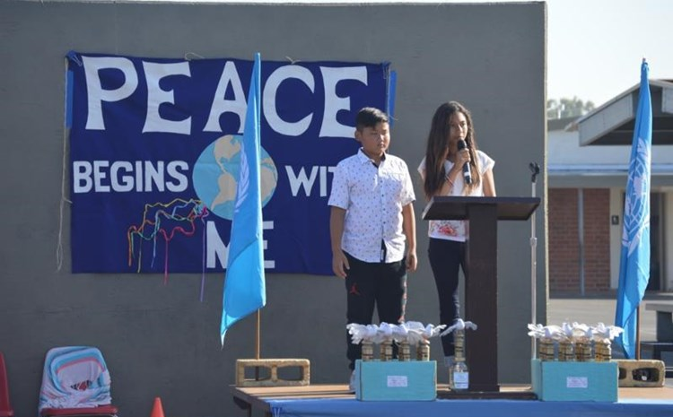 Carrillo Students Spread Peace - article thumnail image