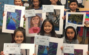 Student Artwork  Showcased at Area Art Festivals - article thumnail image